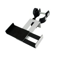Wholesale New Metal Astronomical Telescope Connecting Cellphone Holder For iPhone Samsung HTC Smart Phone W2053A