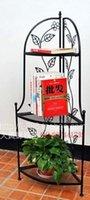 Wholesale Jiaojia corner rack shelf shoe rack three story frame four iron decorative shelf bookcase shelf