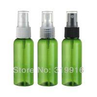 Cheap Free shipping 50ml green spray PET beautiful bottle , plastic bottle packaging , miniature perfume bottles 50pc lot
