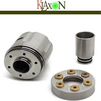 atom delivery - Crazy selling fast delivery high quality ATOM revolver sub ohm tank atomizer rda