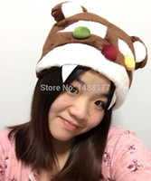 annie costumes - ot Legal Edition LOL Annie lol Tibers Plush Hat High quality cosplay for gamer