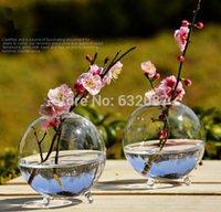 glass fish bowl - Diameter cm pack Three Legs Glass Vase Home Decoration Glass Ball Terrarium Fish Bowl Beautiful Table Glass Decorative