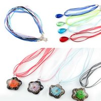 Wholesale 50Pcs Organza Ribbon Necklace Cord with Lobster Clasp For DIY Jewelry Making Wholesales