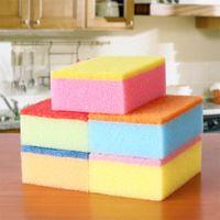 Wholesale affordable Superacid decontamination clean sponge dish towels nano magic rag home supplies