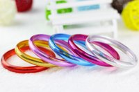 acrylic plastic manufacturers - Manufacturers supply acrylic plastic candy color bracelet jewelry accessories trade magic fairy bracelet bracelet