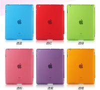 Wholesale Hot sale Ultra thin Matte back cover For ipad mini case cases for ipad mini smart cover