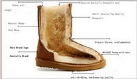 Cheap snow boots women Best australia wool boots