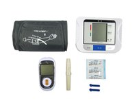 Wholesale Electronic Sphygmomanometer Digital LCD Electronic Blood Pressure Monitor Arm Hot