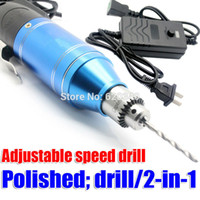 Wholesale 2015 New ElectricTools in Adjustable Mini Drill Electric screwdriver carving burnish drilling machine Multifunction v order lt no tra