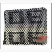 Wholesale 100pcs CCA3085 High Quality New Arrival Leather Wallets BRIDE Wallet JDM Seat Gradation Purse Carbon Racing Black Creative Clutch Wallets