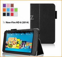Wholesale For Amazon kindle Fire HD HD7 HD th Gen Model Standing Leather Cover Case For Fire HD Tablet case