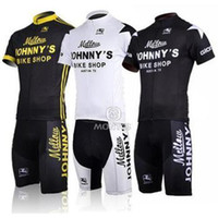Wholesale 2014 men s cycling Jersey sets with short sleeve bike nice top padded bib short in cycling clothing breathable bicycle wear