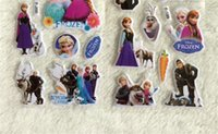Wholesale New Popular Items Cartoon Frozen Stickers Elsa Anna Party Decoration Classic Toys For Children Baby Toys