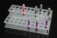 Wholesale pc Acrylic e cig display case electronic cigarette stand shelf holder display rack box for ego battery and tank e cigarette