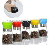 pepper mill - NEW Manual Salt Seed Spice Pepper Mill Grinder Muller Shaker Kitchen Ware Tool