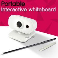 Wholesale Single Multi writing Portable Mini USB Interactive Whiteboard IR Pen based with Retractable Teacher Pointer