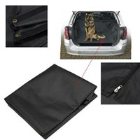 Wholesale Black Universal Waterproof Car Boot protector liner Dog Pet floor Mat Cover Seat Large Size cm x cm x cm