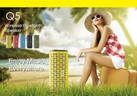 Wireless Bluetooth Speaker Subwoofer Altoparlante mini altoparlante vivavoce del Mic della carta di TF USB Speaker 2015 New Car lettore mp3 spedizione gratuita