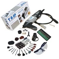 Wholesale Powerful w Variable Speed Electric Rotary Tool Mini Drill Dremel with Flexible Shaft and Accessories