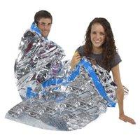 Wholesale New Emergency Reusable Waterproof Rescue Space Thermal Sleeping Bag x200cm