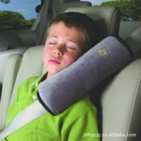 car pillow - nterior Accessories Seat Supports PCE Children baby Car seat belts pillow of Child Protect the shoulder Newest safe fit p
