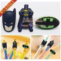 Wholesale Novelty Batman Best for Boys Gifts Pencil Caps for Standard Pencils Pen Pencil Case Pen Caps Topper School Office Supplies