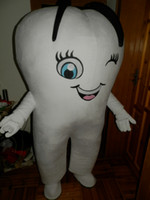 adult toothbrush costume - Hot White TOOTH and Toothbrush Mascot Costume Cartoon Clothing High Quality Suit Adult Size Carnival Costume Fancy Dress Party