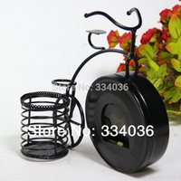 best bicycle alarm - Best Selling Europe metal Bicycle decorative desk and table clock antique watches and clocks CL