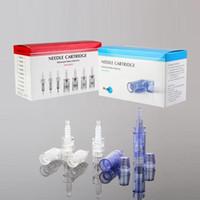 Wholesale 50pcs Needle cartridge pins for Dr pen and MyM derma pen microneedle pen rechargeable dermapen needle