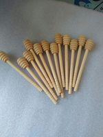 Wholesale 250pcs cm Wooden Honey Stick Honey Dipper Party Supply