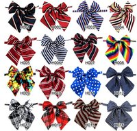 Wholesale 100pcs women professional tie butterfly Stripe plaid printed silk Bow tie School Girl Uniform flight attendant hotel bank Necktie colors