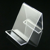 display cell phone - acrylic cell phone mobile phone display stand shelf holder rack new arrival