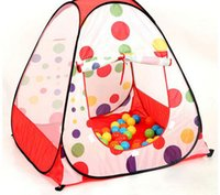 Cheap 2 kids big Multi function children's tent baby playhouse Pop Up ball pool house kids play game tents barraca for indoor outdoor