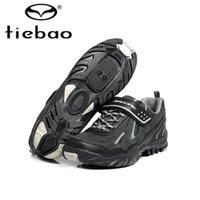 Wholesale TIEBAO Nylon fibreglass Road Sports Ciclismo Shoes Road Bike Cycle Athletic Ciclismo Cycling bike shoes for Men SIZE