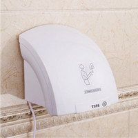 Wholesale Household Hotel Automatic Infrared Sensor Hand Dryer Bathroom Hands Drying Device US Plug A H02