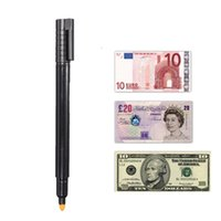 banknote checker - Cheapest Useful Banknotes Detector Tester Pens Money Counterfeit Marker Fake Detector Security Bank Notes Checker D etector Pen order lt no