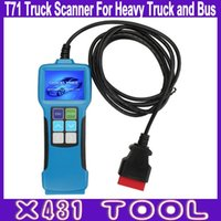 best system bus - Best Quality T71 Truck Scanner For Heavy Duty and Bus Auto Diagnostic Tool Code Reader Support J1939 J1587 Protocol