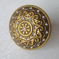 antique glass cabinet knobs - Antique Brass Crystal Pulls Glass Dresser Drawer Knobs Handles Bronze Kitchen Cabinet Decorative Knobs Vintage furniture knobs