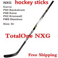 Wholesale 2014 Top Selling ice hockey stick nxg B auer Supreme TotalOne NXG Intermediate Int ice hockey sticks Sr pscs