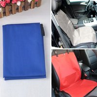 pet fabric - Popular New Waterproof Travel Dog Car Cushion Pet Dog Car Seat Oxford Fabric Cover Blanket Mat Pet Supplies Free Size HB0014 Salebags