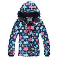 Wholesale New Arrival Women Ski Jacket Skiing Clothing For Women Polyester Outdoot Sports Wear Ski Suits Female XS XL