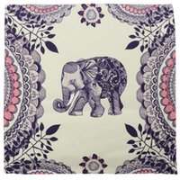 Wholesale 45cm cm Retro Cushion Cover D Side Printing Elephant Pattern Cushions Home Cover for Couch Pillowcase