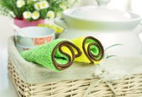 Wholesale Kitchen clean superfine fiber double sided suction oil wash dishes