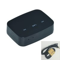Wholesale 3 mm in Portable USB Wireless NFC Bluetooth Stereo Music AUX Audio Speaker Receiver Adapter