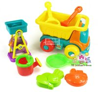 atv toys - Large beach toy car piece set hourglass atv toy