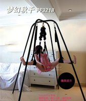 Wholesale Sex Swing with Support Frame Elastic Bungee rope sex Swing Adult Products Swing chair Bed sex Furniture