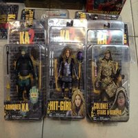 Wholesale 12pcs Kick Ass Hit Girl Colonel Stars Armored KA PVC Action Figure Collectible Toys quot cm