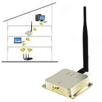 amplifier broadband - 2 Ghz W b g n Wifi Wireless Signal Booster Repeater Broadband Amplifiers for Wireless Router Network Card