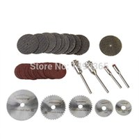 Wholesale 39pcs Resin Metal Cutting Blade Wheels Disc Set for Dremel Rotary Tools
