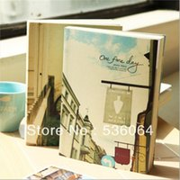 Wholesale Europe Feeling Cute Diary Planner Journal Scheduler Notebook Random Color Gift Freeshipping
